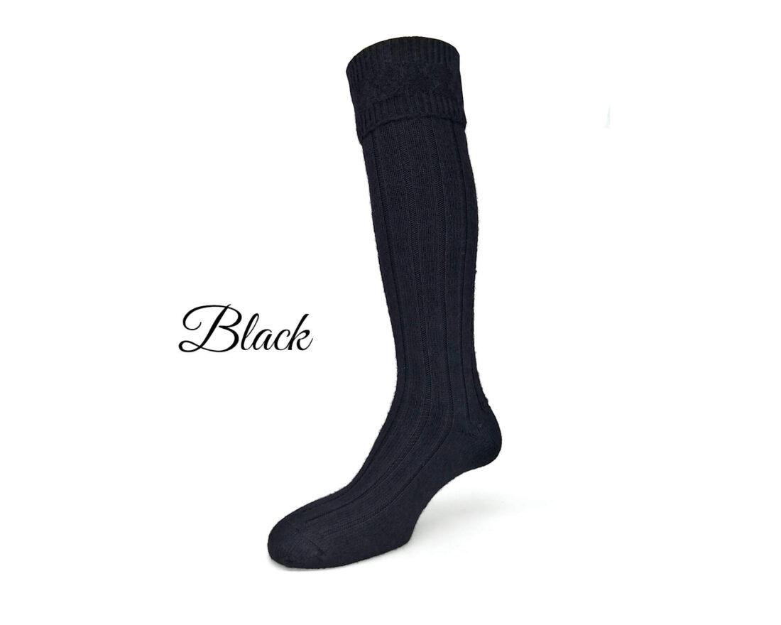 Alpaca knee high wellington socks