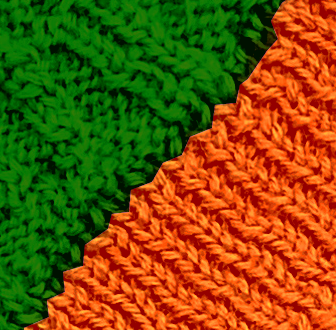 Orange - Green