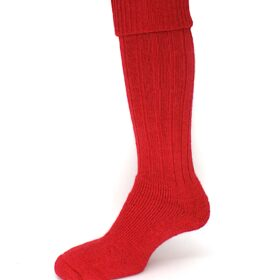 Alpaca long turn over top sock