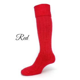 Alpaca knee high country socks