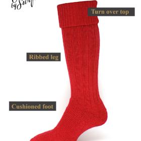 alpaca wellington socks