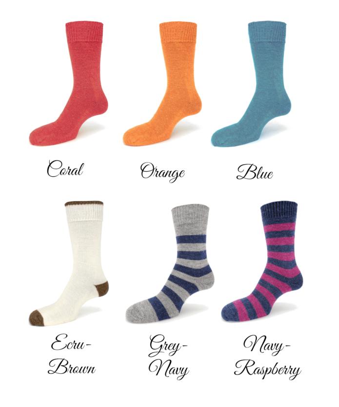 Alpaca everyday dress socks