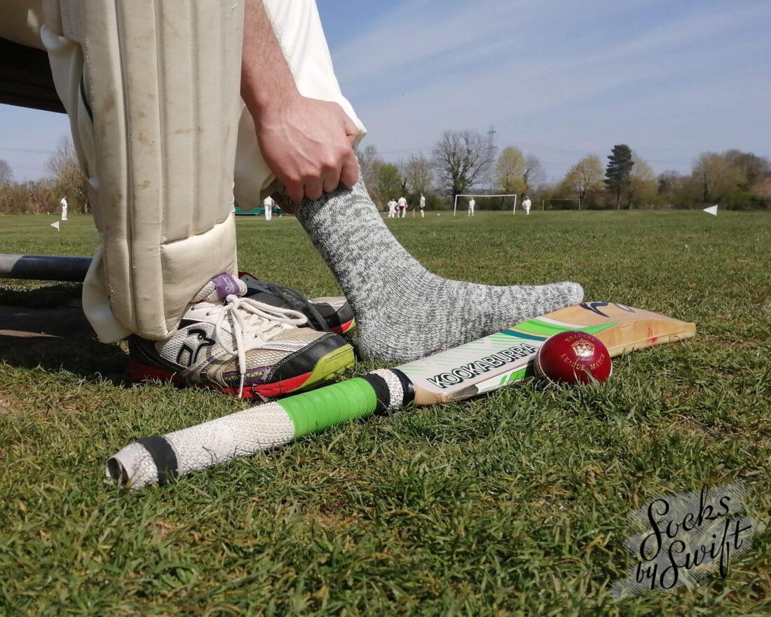 Wool cricket socks