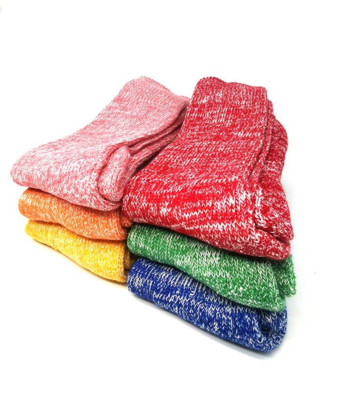 Cotton cushion sole sock