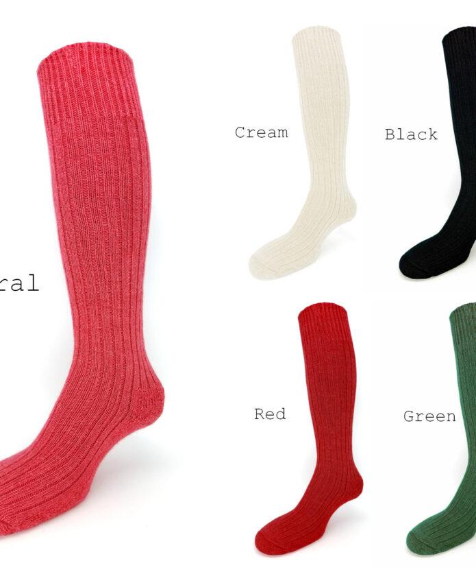 Alpaca knee high socks