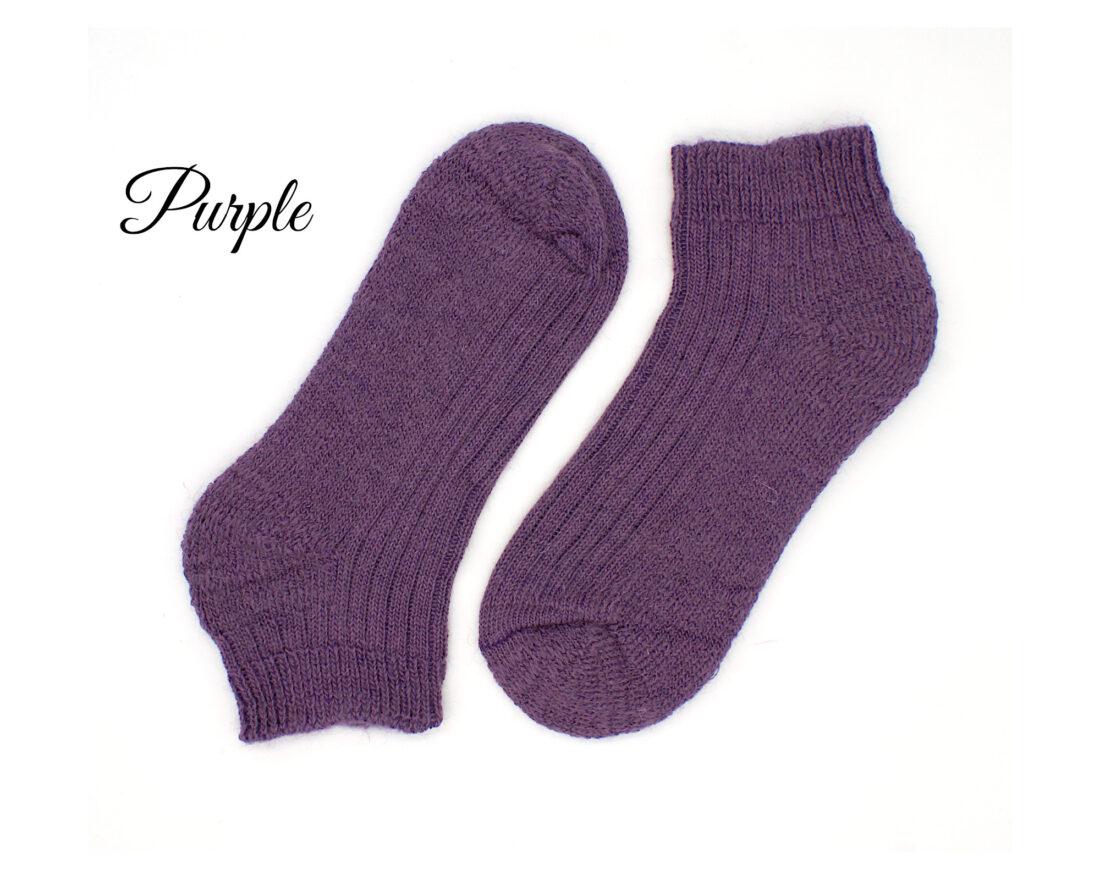 mohair trainer socks